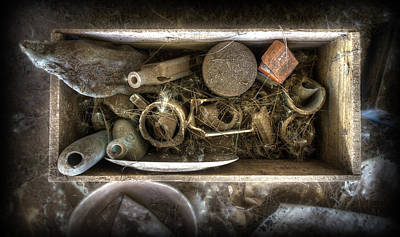 Photograph - Box Of Tricks by Wayne Sherriff