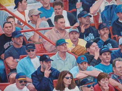 Painting - Box Seats Detail by James Sparks