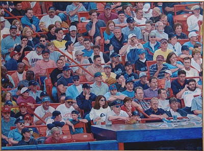 Painting - Box Seats by James Sparks