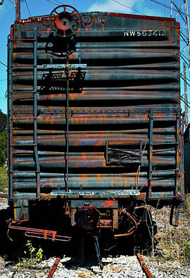 Photograph - Boxcar by Douglas Stucky