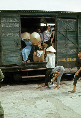 Photograph - Boxcar Loading by Robert Holden