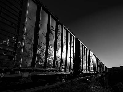 Photograph - Boxcar Sunrise by Bob Orsillo