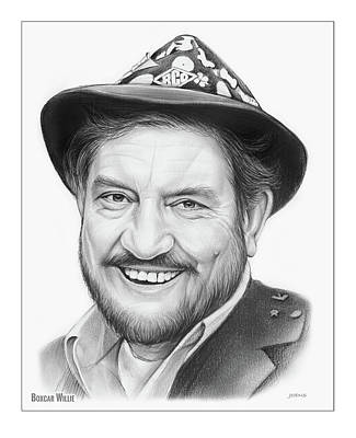 Drawing - Boxcar Willie by Greg Joens