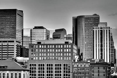 Photograph - Boxed Skyline by Kevin Munro