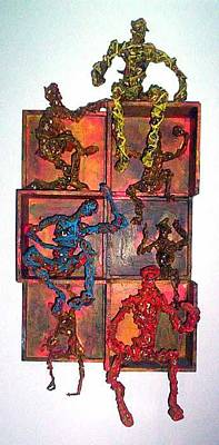 Mixed Media - Boxed Up by Don Thibodeaux