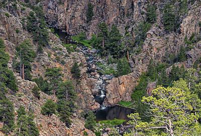Photograph - Boxelder Canyon Wyoming by Loree Johnson