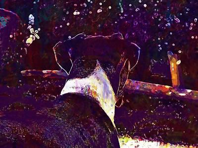 Boxer Puppy Digital Art - Boxer Dog Pet Breed Animal Puppy  by PixBreak Art