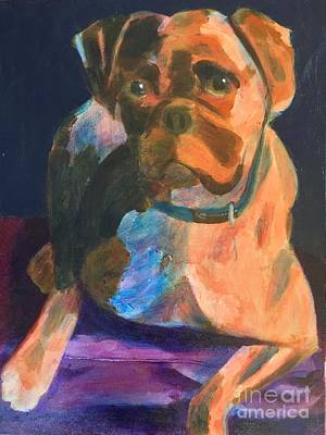 Painting - Boxer by Donald J Ryker III