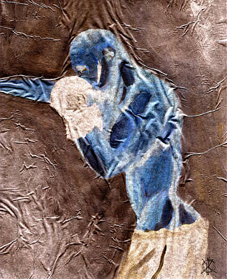 Boxer II Art Print by KM Male Nudes