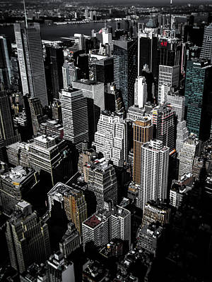 City Life Photograph - Boxes Of Manhattan by Nicklas Gustafsson