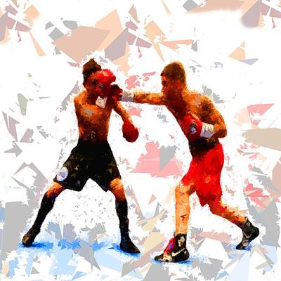 Painting - Boxing 113 by Movie Poster Prints