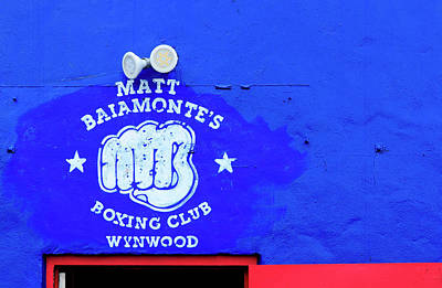 Photograph - Boxing Club by Keith Armstrong
