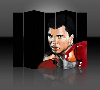 Mixed Media - Boxing Great Muhammad Ali by Marvin Blaine