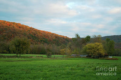 Boxley Valley Arkansas Art Print