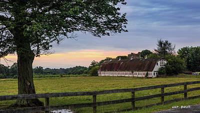 Photograph - Boxwood Farm by Walt Baker