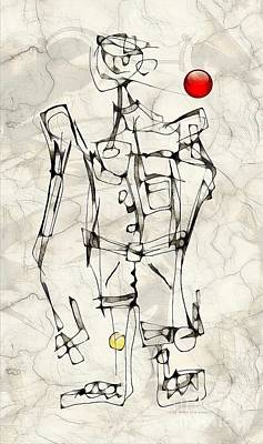 Digital Art - Boy 3780 by Marek Lutek