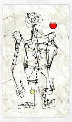 Digital Art - Boy 3782 by Marek Lutek