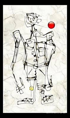 Digital Art - Boy 3783 by Marek Lutek