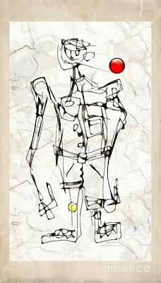 Digital Art - Boy 3784 by Marek Lutek