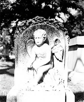 Photograph - Boy Angel I by Ronald Horsley