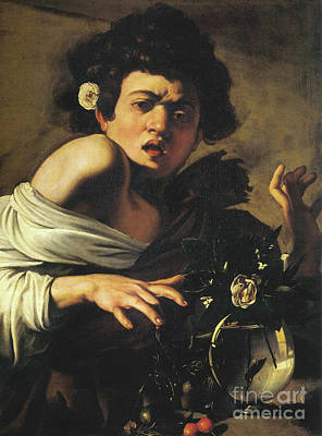 Painting - Boy Bitten By A Lizard, 1596 To 97 by Caravaggio