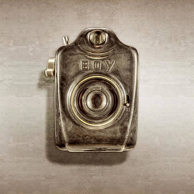 Photograph - Boy Camera Front by YoPedro