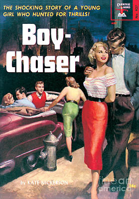 Painting - Boy-chaser by Unknown Artist