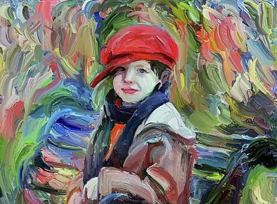Digital Art - Boy Classic Portrait by Yury Malkov