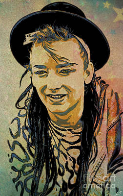 Photograph - Boy George by Sergey Lukashin