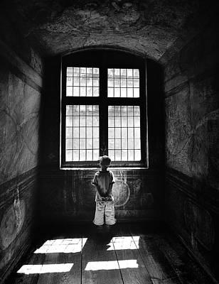 Kid Photograph - Boy In A Pensive Mood by Przemyslaw Wielicki