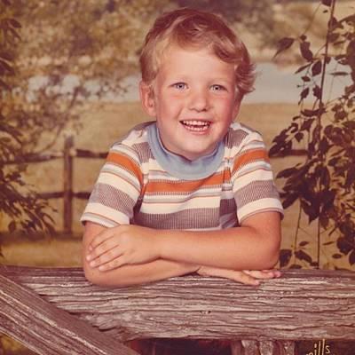 Model Photograph - #boy #kid #cute #blueeyes #happy by David Haskett