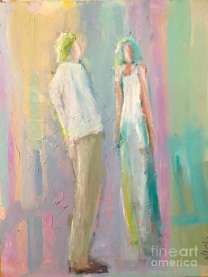Painting - Boy Meets Girl by Mark Macko