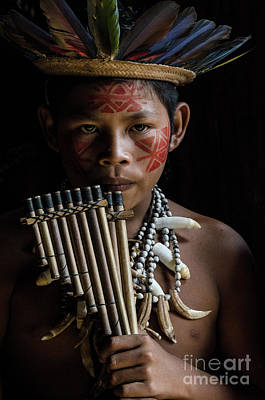 Amazon River Photograph - Boy Of The Brazillian Amazon by Bob Christopher
