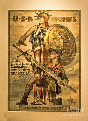 Photograph - Boy Scouts Usa Bonds by Steven Parker