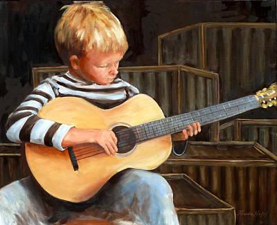 Boy With Guitar Original