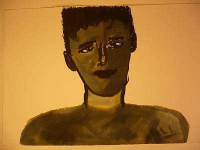 Boy Drawing - Boy2 by Christopher Pekarik