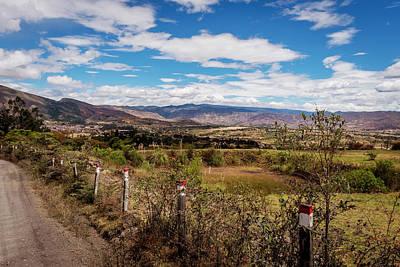 Open Impressionism California Desert - Boyaca, Colombia Landscape by Michael Evans
