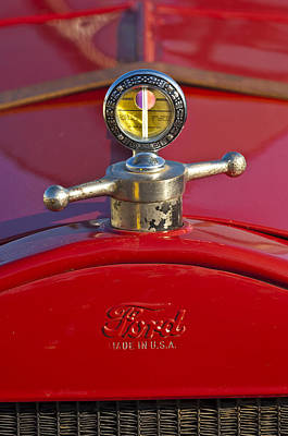 Hoodie Photograph - Boyce Motometer Hood Ornament by Jill Reger