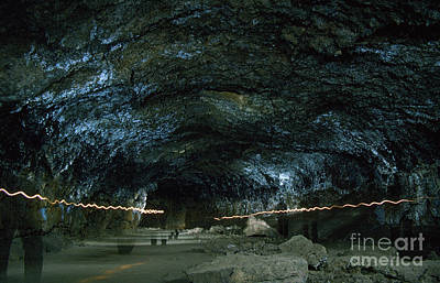 Photograph - Boyd Cave Lava Tube Bend Oregon 2 by Rick Bures