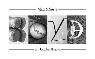 Photograph - Boyd Custom Alphabet Art by Kathy Stanczak