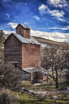 Art Print featuring the photograph Boyd Flour Mill by Cat Connor