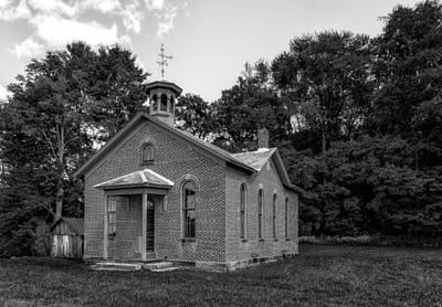 Boyd Photograph - Boyd School House - 2 by Frank J Benz