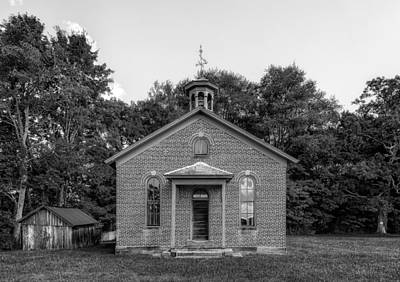 Boyd Photograph - Boyd School House - 4 by Frank J Benz