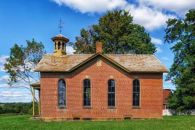 Boyd Photograph - Boyd School House - 5 by Frank J Benz
