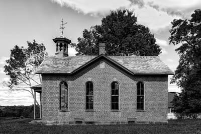 Boyd Photograph - Boyd School House - 6 by Frank J Benz