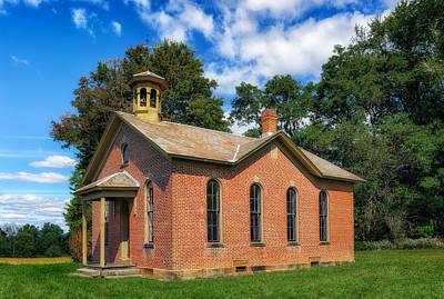 Boyd Photograph - Boyd School House - 7 by Frank J Benz