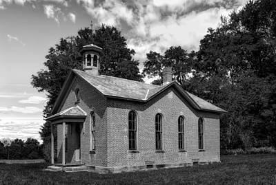 Boyd Photograph - Boyd School House - 8 by Frank J Benz