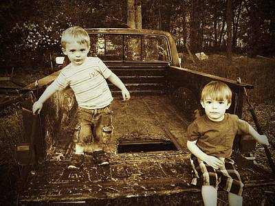 Photograph - Boyhood by  Tina McGinley