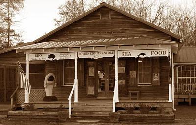 Boykin Photograph - Boykin General Store by Skip Willits