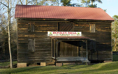 Boykin Photograph - Boykin Mill by Skip Willits